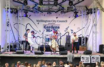 Gardens Magic annual event held by Wellington City Council in New Zealand