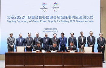 In pics: Signing Ceremony of Green Power Supply for Beijing 2022 Games Venues