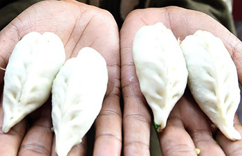 Momos (dumplings) popular in India