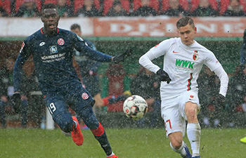 German Bundesliga: Augsburg beat Mainz 3-0