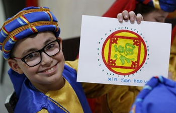 Lebanon's national school celebrates Chinese New Year at Chinese embassy