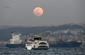 Full moon seen across world