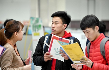 Job fair held in Jinan, E China's Shandong