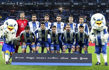 Spanish league match: Espanyol vs. Huesca
