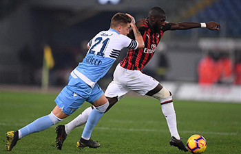 Lazio, Milan draw 0-0 in Italy Cup semi-final