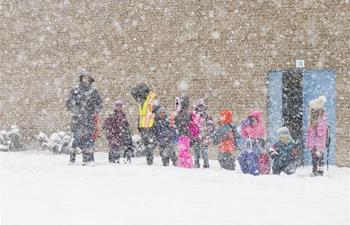 Snowfall warning issued in Toronto, Canada