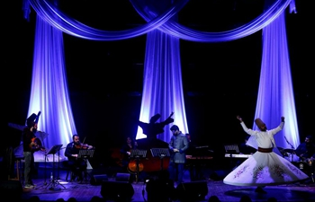Night show held in Beirut, Lebanon