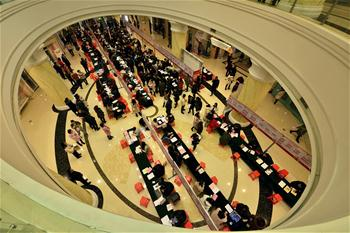 Job fairs held across China
