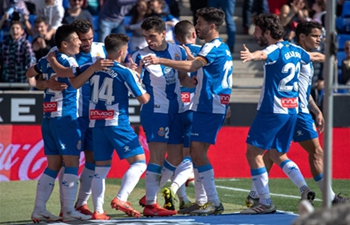 RCD Espanyol beats Valladolid 3-1 at Spanish league match