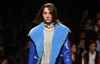 Creations of Portuguese designer Ricardo Andrez staged during Lisbon Fashion Week