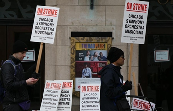 In pics: Chicago Symphony Orchestra members on strike