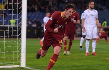 Roma beats Empoli 2-1 at Serie A soccer match