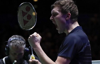 Highlights of men's singles semifinal match at All England Open 2019