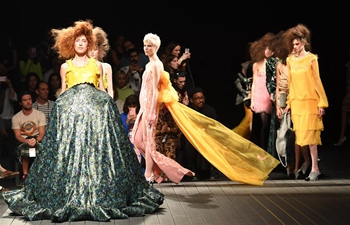 Creations of David Ferreira presented during Lisbon Fashion Week Autumn/Winter 2019/20