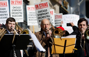 CSO musicians go on strike in Chicago, U.S.