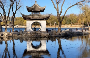 Scenery of Taoranting Park in Beijing