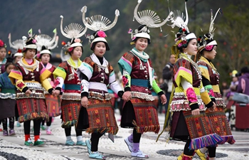 Fangu Drumming Festival celebrated in SW China's Guizhou