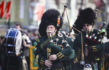 U.S. people celebrate St. Patrick's Day