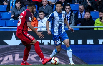 Spanish league match: RCD Espanyol vs. Sevilla