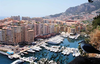 City view in Monaco