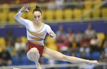 Highlights of 12th FIG Artistic Gymnastics World Cup in Doha