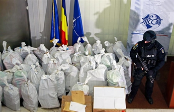 Romanian police seize over 1,000 kilograms of cocaine in Danube Delta