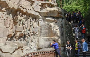 In pics: Dazu Rock Carvings scenic area in Chongqing, SW China