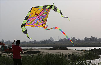 Annual kite festival held in Baghdad, Iraq