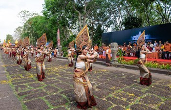 Phanom Rung Historical Park Festival held in Thailand