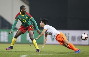 China beats Cameroon 1-0 at final match of 2019 Int'l Women's Football Tournament