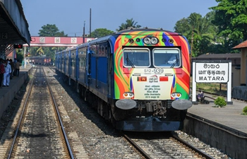 Sri Lanka opens China-funded railway line