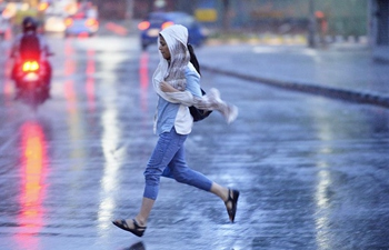 Rain helps bring down temperature in Bangalore, India