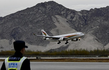 Tibet's first intercontinental air route links Lhasa, Helsinki