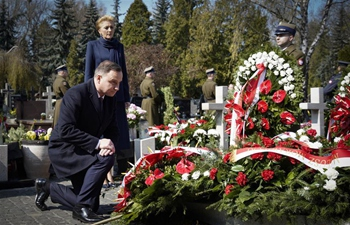 Polish government marks 9th anniversary of Smolensk air crash