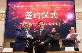 Egypt, China join hands to promote traditional Chinese medicine in Egypt