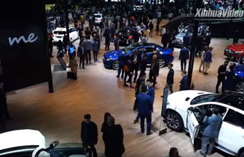 Global carmakers debut new electric cars at Auto Shanghai 2019