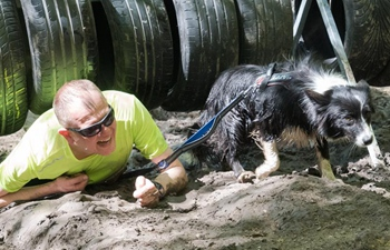 Hard Dog Race extreme obstacle course race held in Hungary