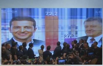 Ukraine Central Electoral Commission announces preliminary results