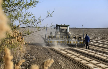 Mechanization rate of Xinjiang's farm work reaches 84.68 percent in 2018