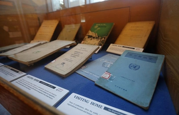 """China's Chongqing Library """"brings home"""" early UN publications through New York exhibition"""