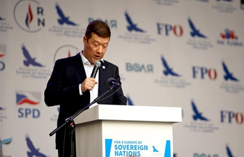 Czech opposition SPD rallies for EU election campaign