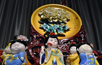 In pics: peony porcelain in Luoyang, C China's Henan