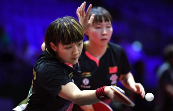In pics: 2019 ITTF World Table Tennis Championships day 5
