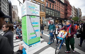 Car Free Earth Day 2019 marked in New York