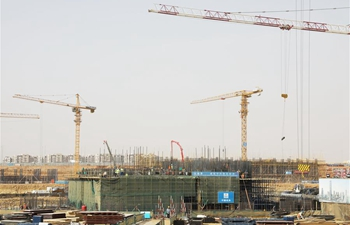 Feature: Chinese construction company honors workers in Egypt on Labor Day