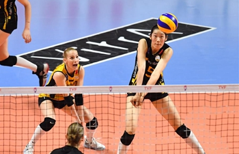 Eczacibsi beats Vakifbank during Turkish Women's Volleyball Super League final