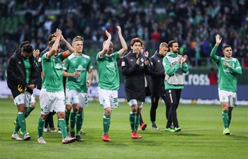 Bremen draws Dortmund 2-2 at German Bundesliga match