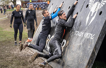 Tough Viking competition held in Stockholm