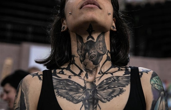 13th Int'l Athens Tattoo Convention held in Greece