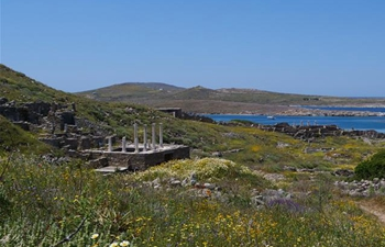 In pics: scenery of Delos, Greece